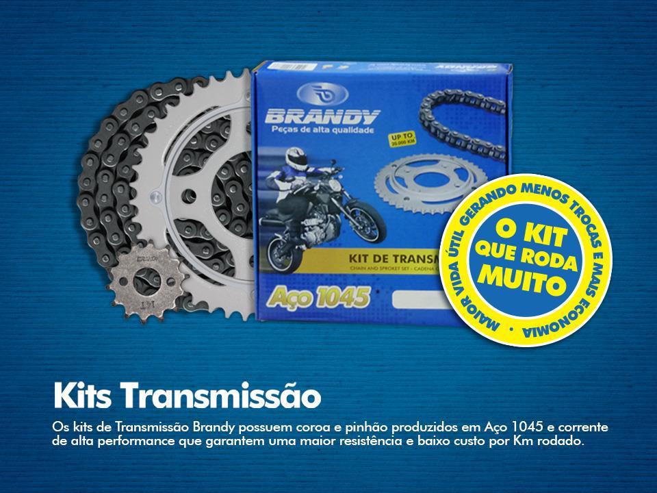 Kit Relação Kasinski CRZ 150 47X15 - 428H136 (BRANDY)