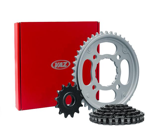 Kit Relação Honda NXR BROS 150 17X50 - 428HX130 (VAZ)