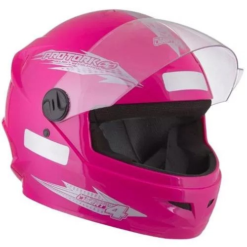 Capacete NEW Liberty Four Rosa