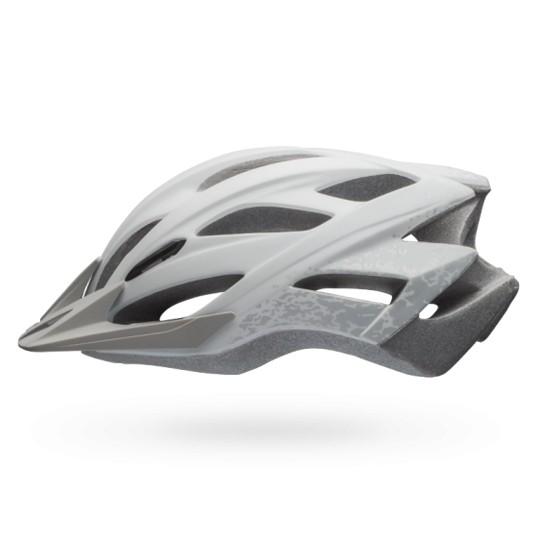 b40987336 Capacete Ciclismo BELL SLANT Branco Fosco