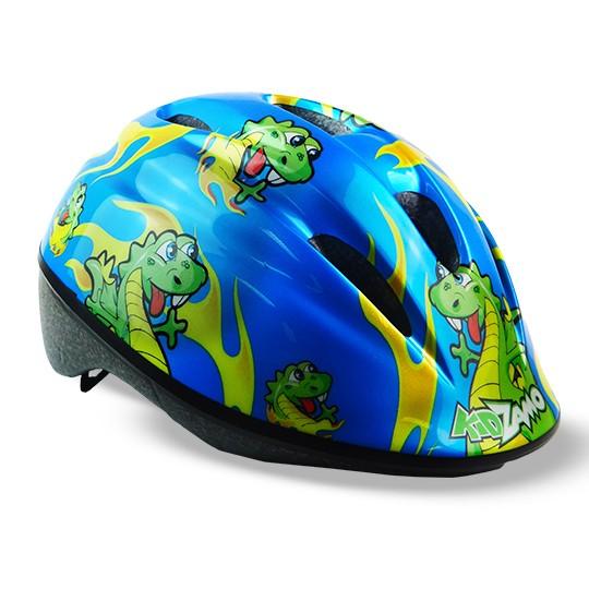 1640e6af0 Capacete Ciclismo Infantil KZ-168 Dragão Verde