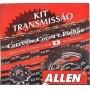 Kit Relação Honda NXR BROS 160 16X48 - 428HX128 (allen)
