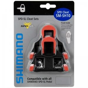 Taquinho Pedal Speed Fixo SM-SH10 Vermelho (shimano)
