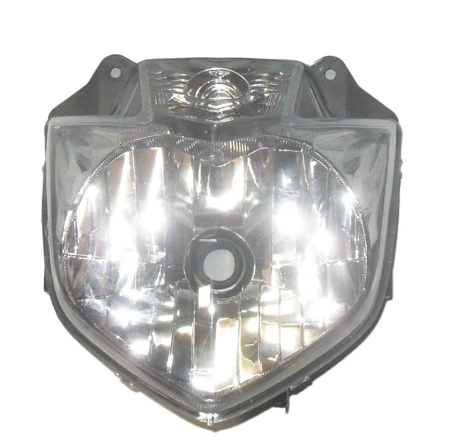 Bloco Optico do Farol Yamaha Fazer 250 2011 a 2017 (SCUD)