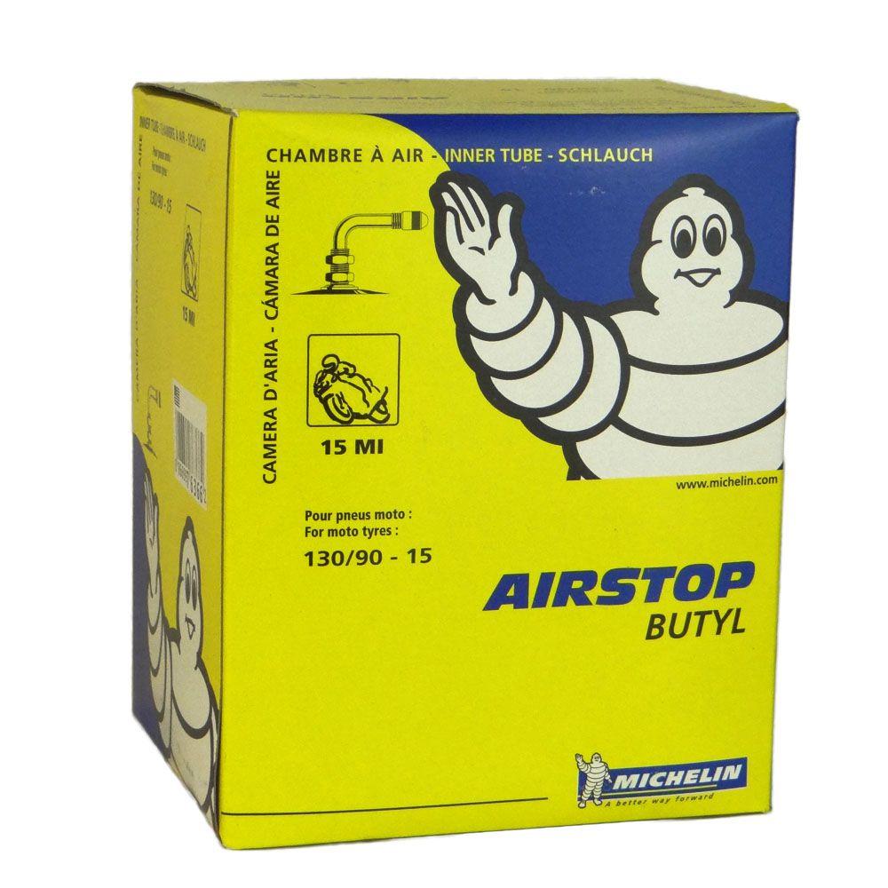 Camara AR Michelin MI-15 130/90-15 Válvula 90° Torta