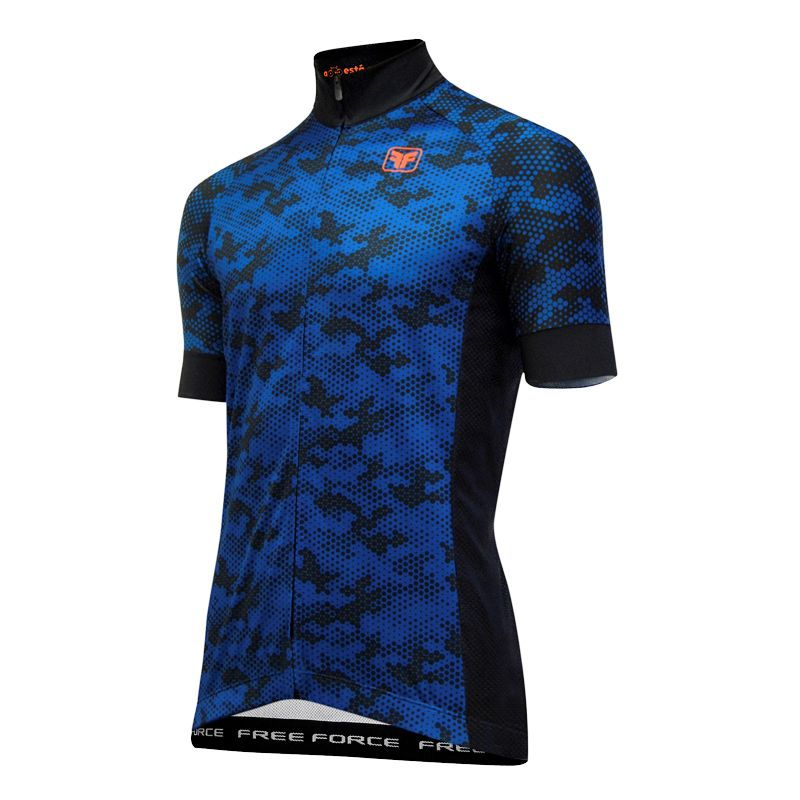 Camisa Ciclismo Free Force ARMY