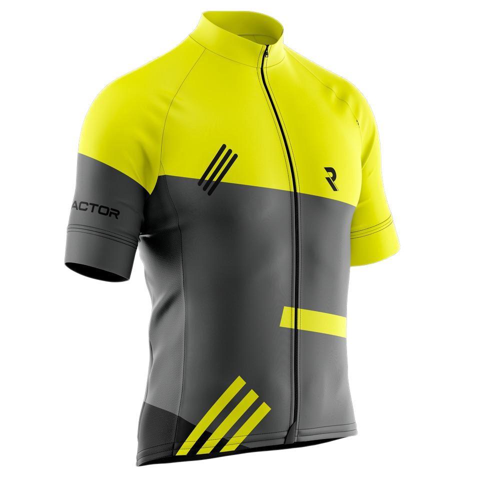 Camisa Ciclismo Refactor 3XU MAX Fluor