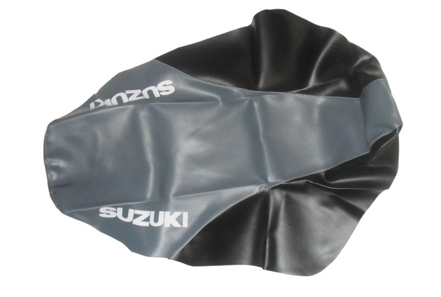 Capa de Banco Suzuki DR 650 93-99 Preto C/ Cinza