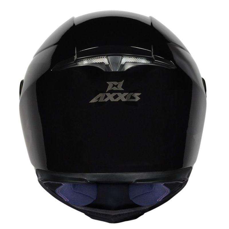 Capacete AXXIS Eagle Solid Preto e Cinza