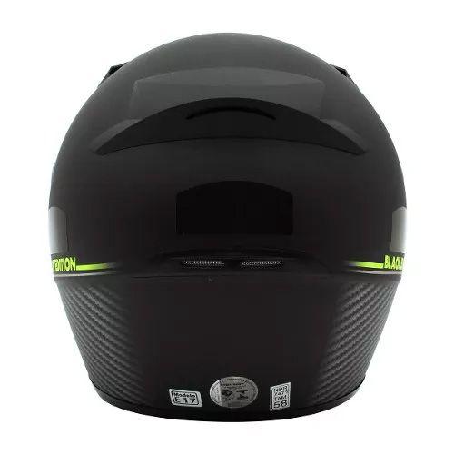 Capacete EBF BLACK Edition Fosco Preto e Verde