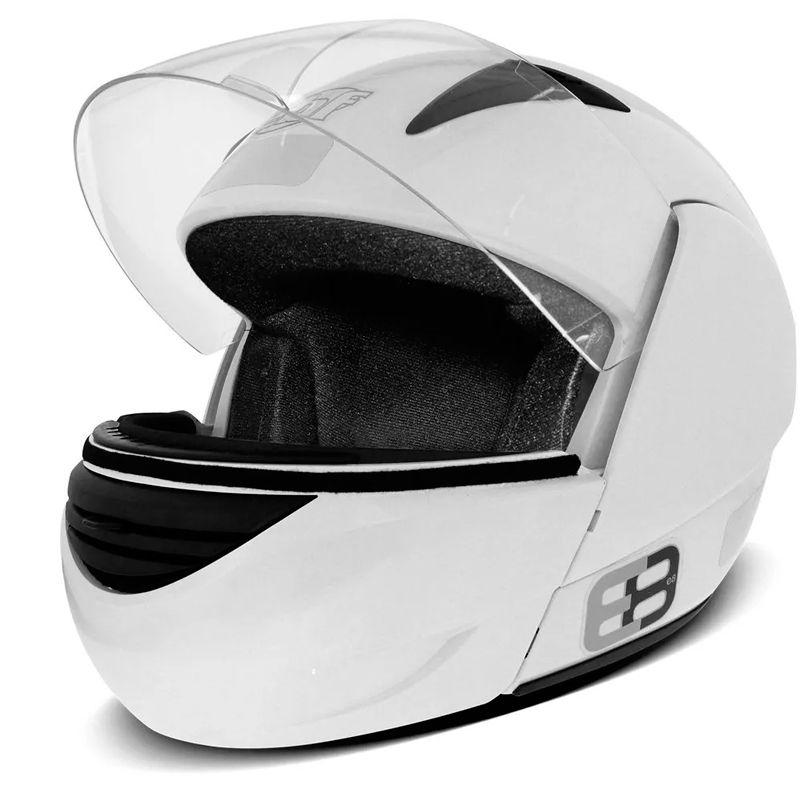 Capacete EBF E08 1150 Robocop Branco