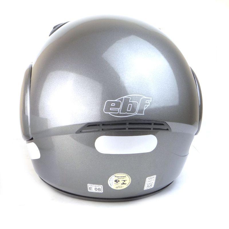 Capacete EBF E08 1150 Robocop Chumbo