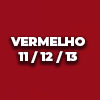 VERMELHO 11 12 13