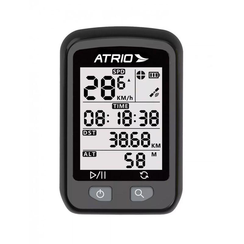 GPS para Ciclismo Atrio IRON BI091 + KIT Reparo Vipal Brinde