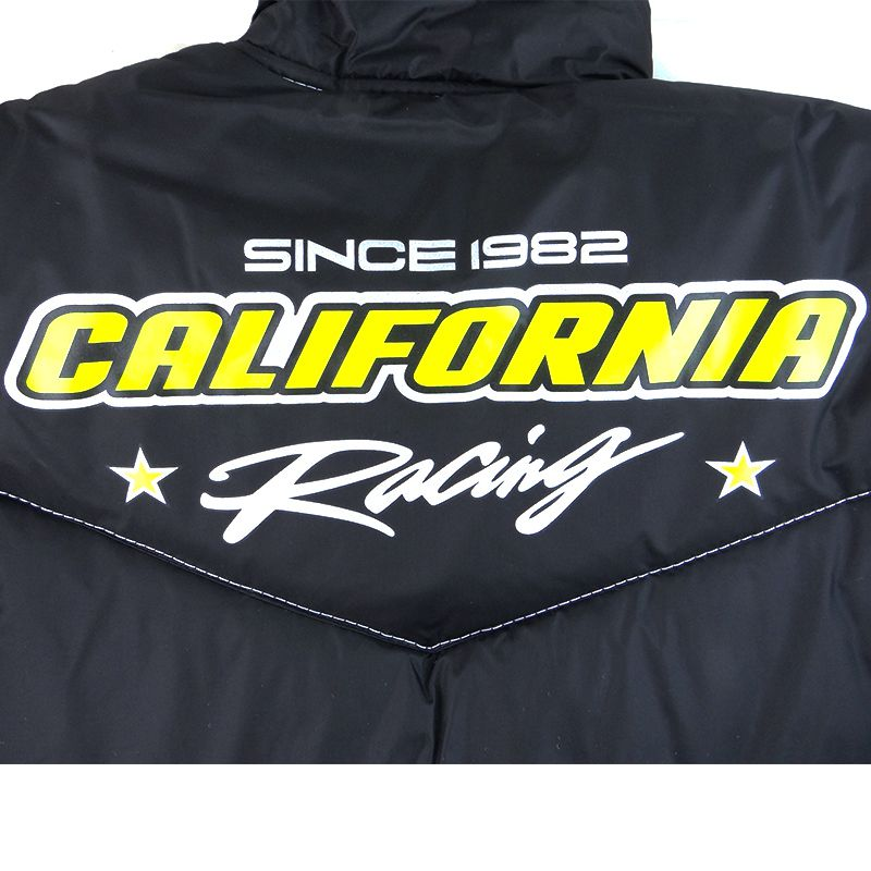 Jaqueta California Racing Life Amarelo