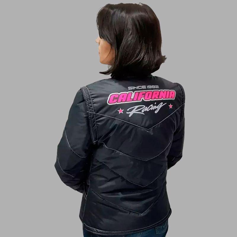 Jaqueta California Racing Life Rosa