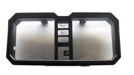 Kit Carcaça do Painel Honda CB 400 / CB 450 Inferior + Superior + Interna