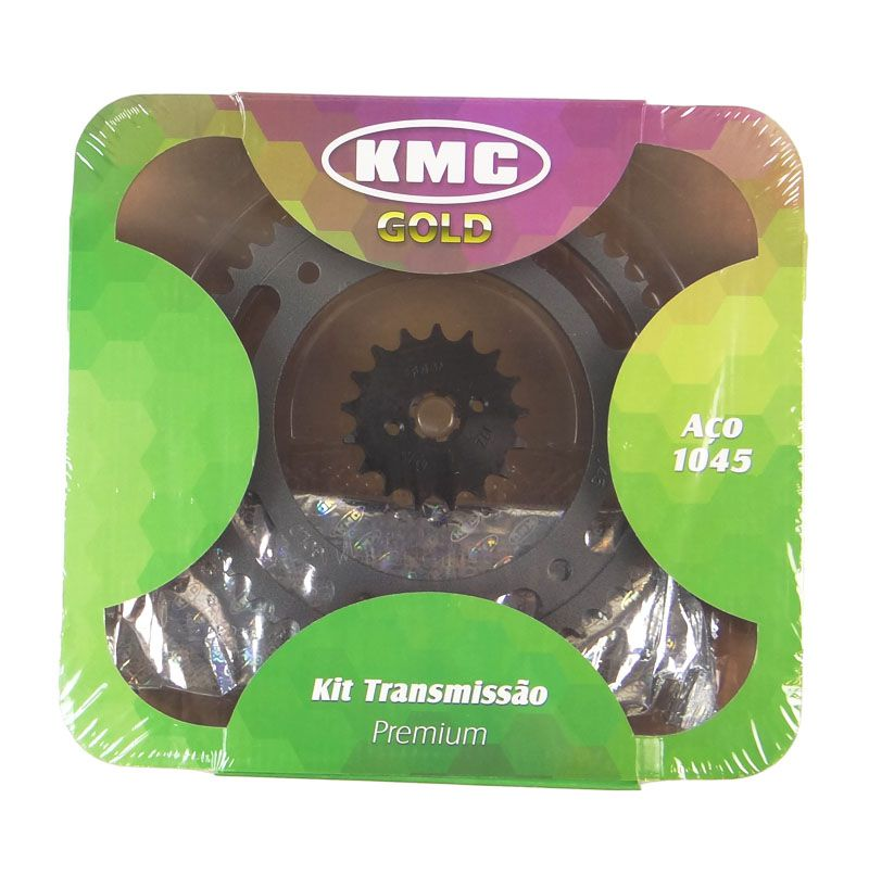 Kit Relação Honda NXR BROS 150 17X50 - 428HX128 com Retentor (KMC GOLD)