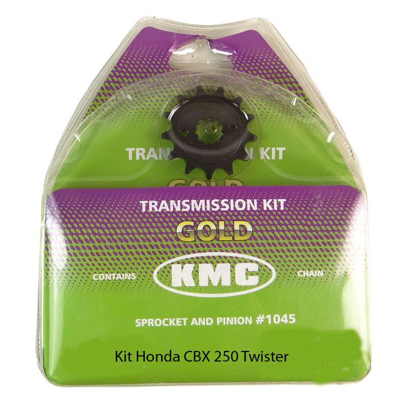Kit Relação Honda Twister 13X37 - 520HX106 (KMC GOLD)
