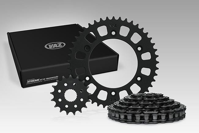 Kit Relação Yamaha Crosser 150 41X14 - 428HOR122 com RET (VAZ Xtreme)