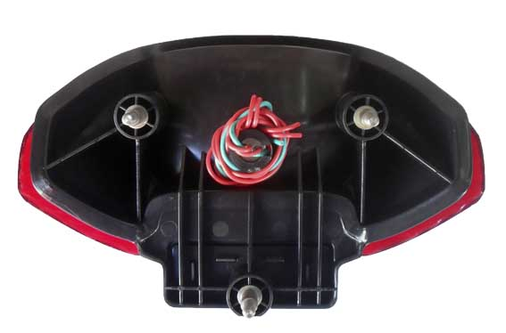 Lanterna Honda Falcon NX 400 Vermelha (paramotos)