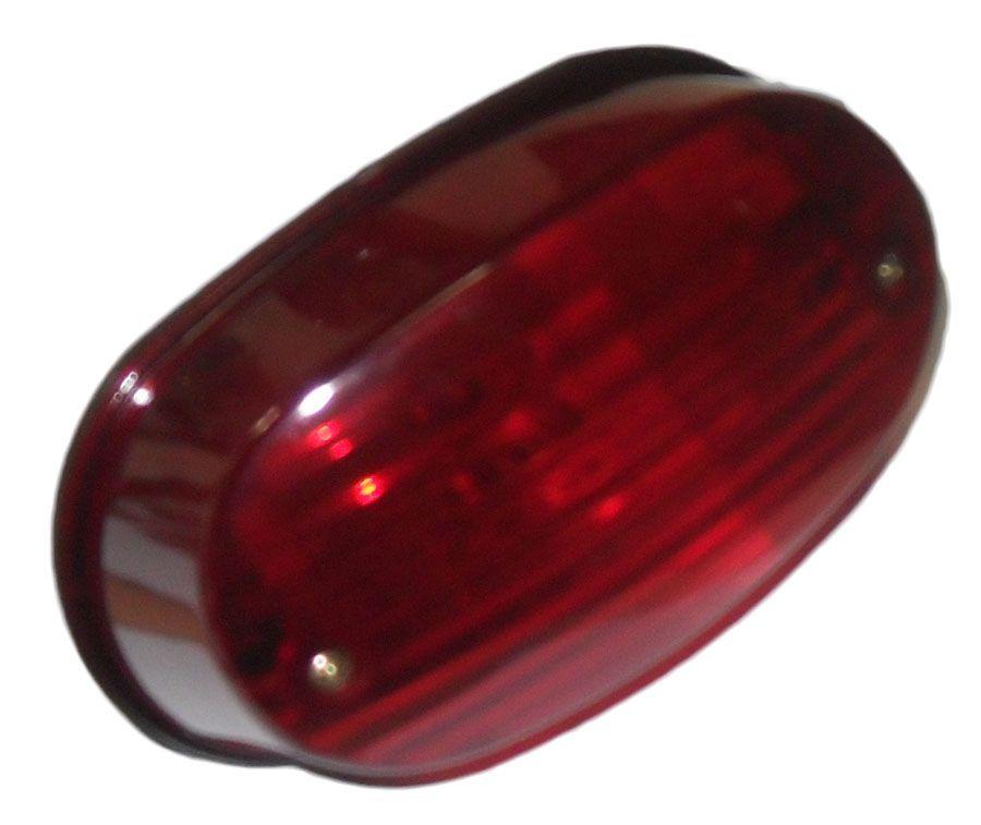 Lanterna YES 125 Lente Vermelha (sportive)