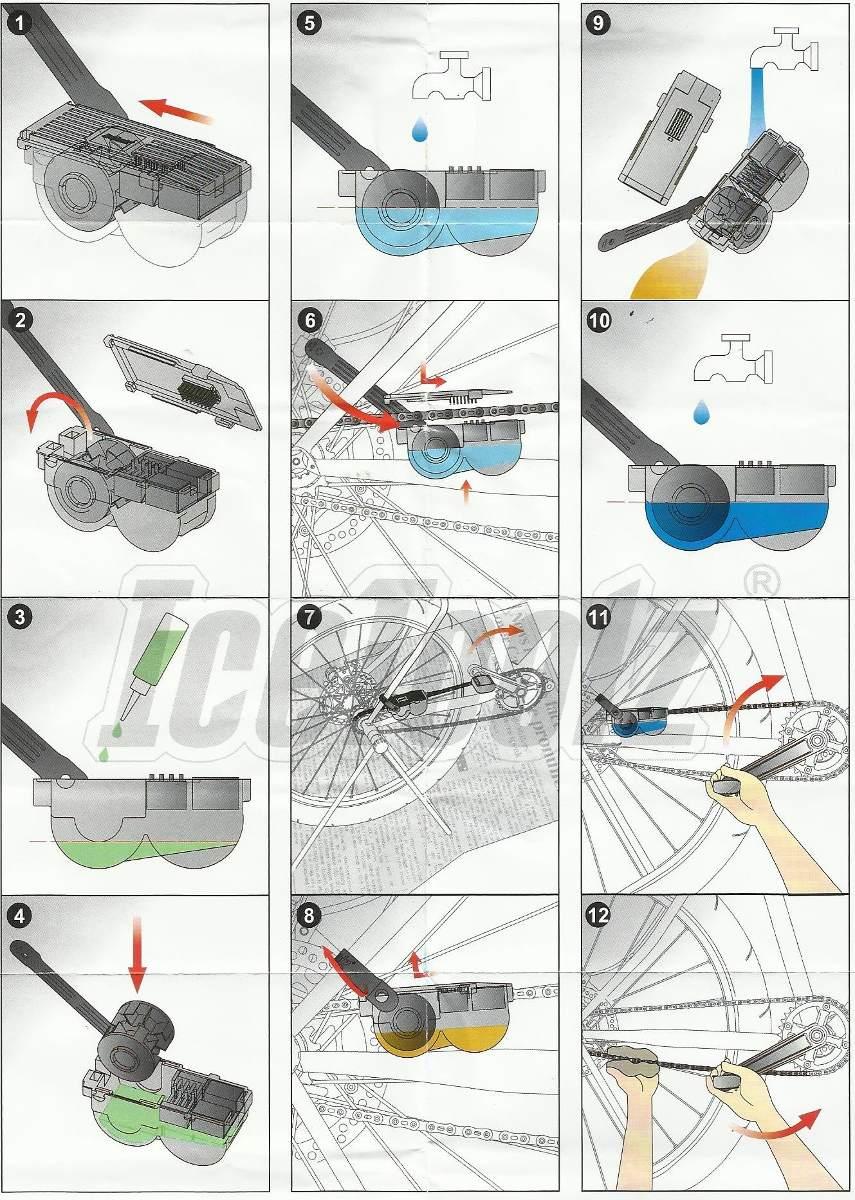 Limpador de Corrente de Bicicleta C115 (icetoolz)
