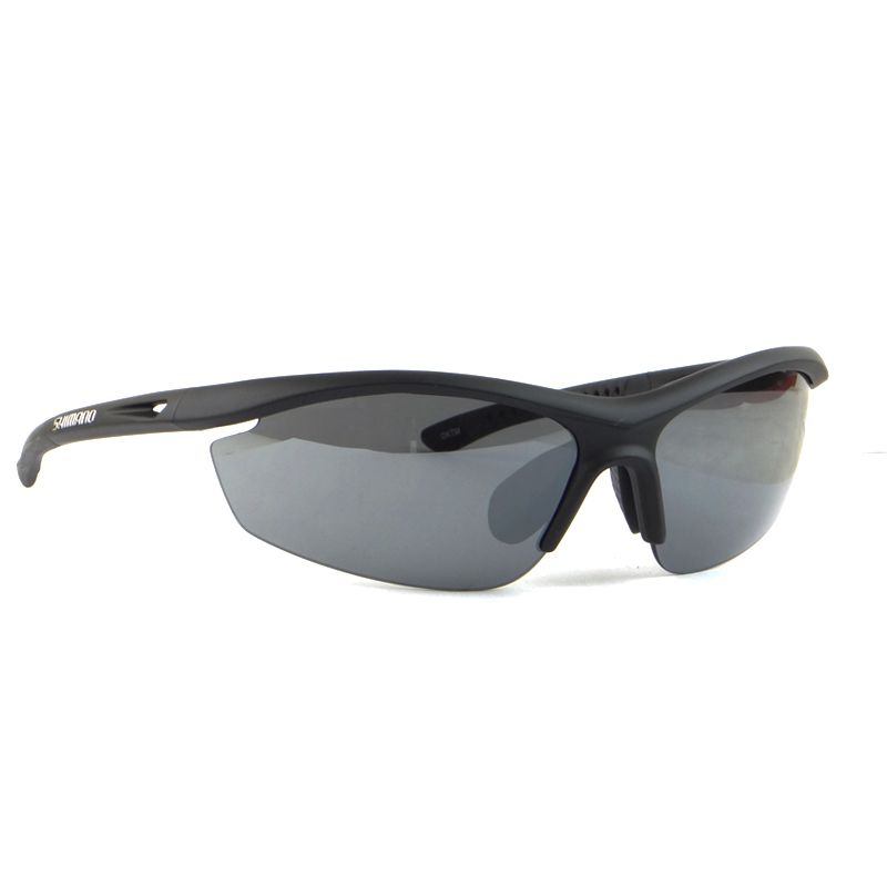 óculos Ciclismo Shimano S20R Preto Fosco Lentes Fume e Laranja Fotocromatica