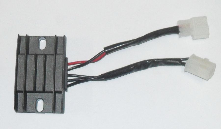 Regulador Retificador Suzuki YES 125 / Intruder 125 (magnetron)