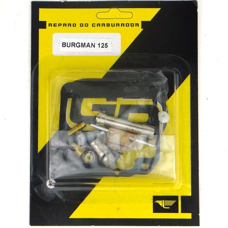 Reparo Carburador Burgman 125 ATÉ 2010 (GP)