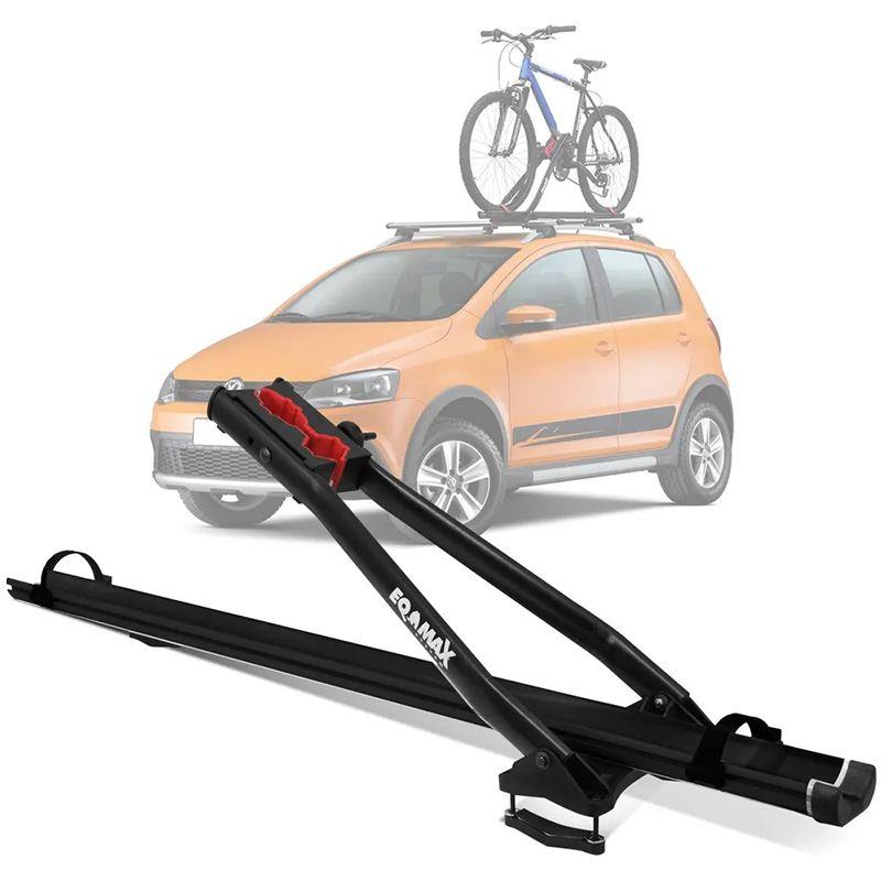 Transbike Suporte de Bicicleta para Teto de Carro EQMAX Velox Aluminio Preto
