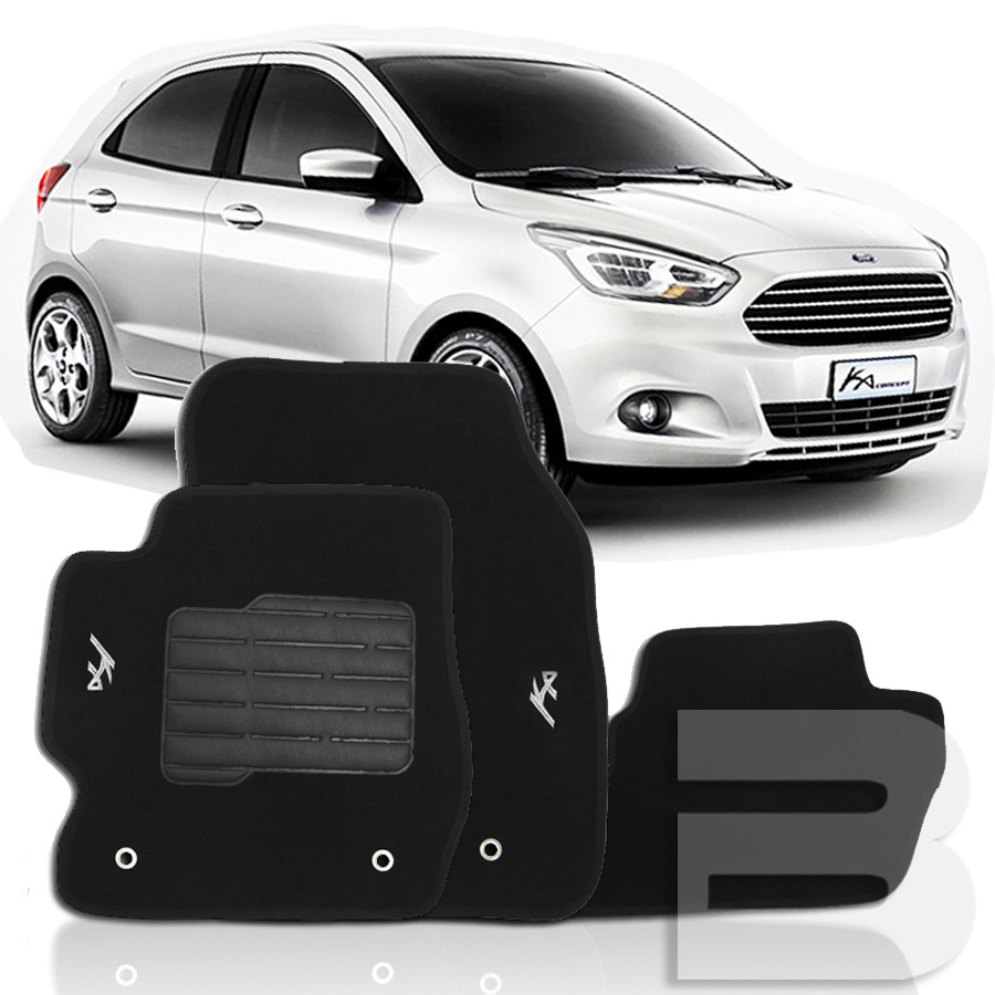 Tapete Carpete Tevic Ford Ka 2014 15 16 17