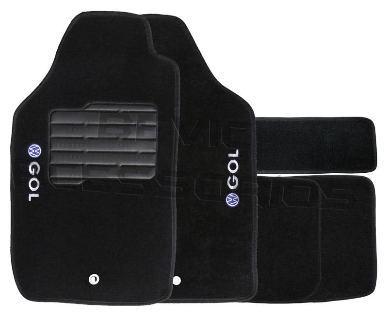 Tapete Carpete Tevic Volkswagen Gol G5 G6 2009 10 11 12 13 14 15