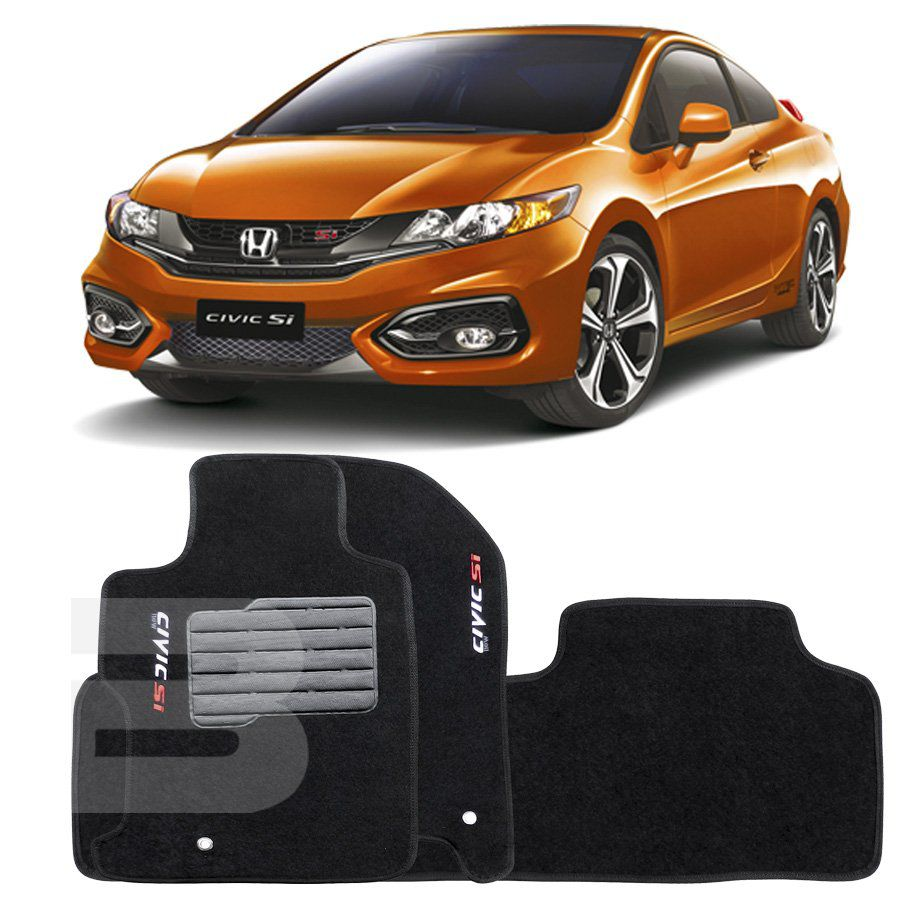 Tapete Carpete Tevic Honda New Civic Si 2007 08 09 10 11