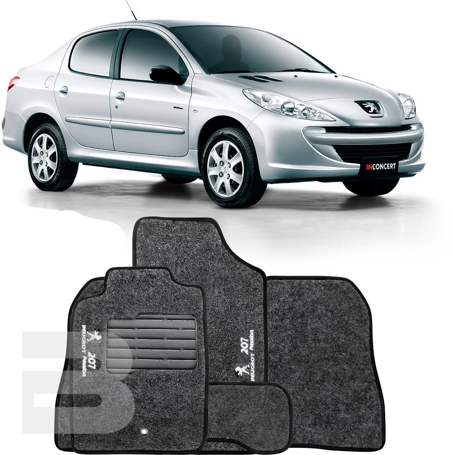 Tapete Carpete Tevic Peugeot 207 Passion 2009 10 11 12