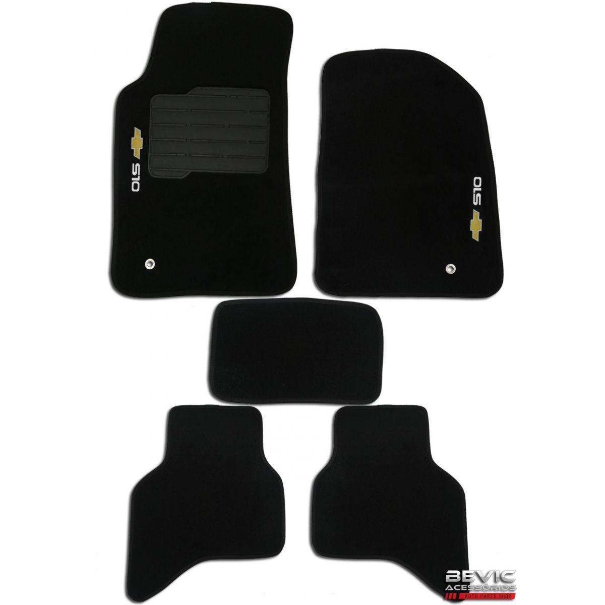 Tapete Carpete Tevic Chevrolet S10 S-10 Cabine Dupla 2012 13 14 15 16 17 18