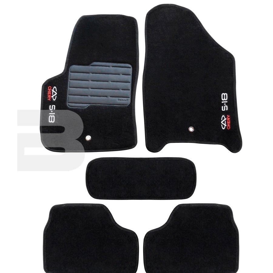 Tapete Carpete Tevic Chery S18 S18 2012 Em Diante