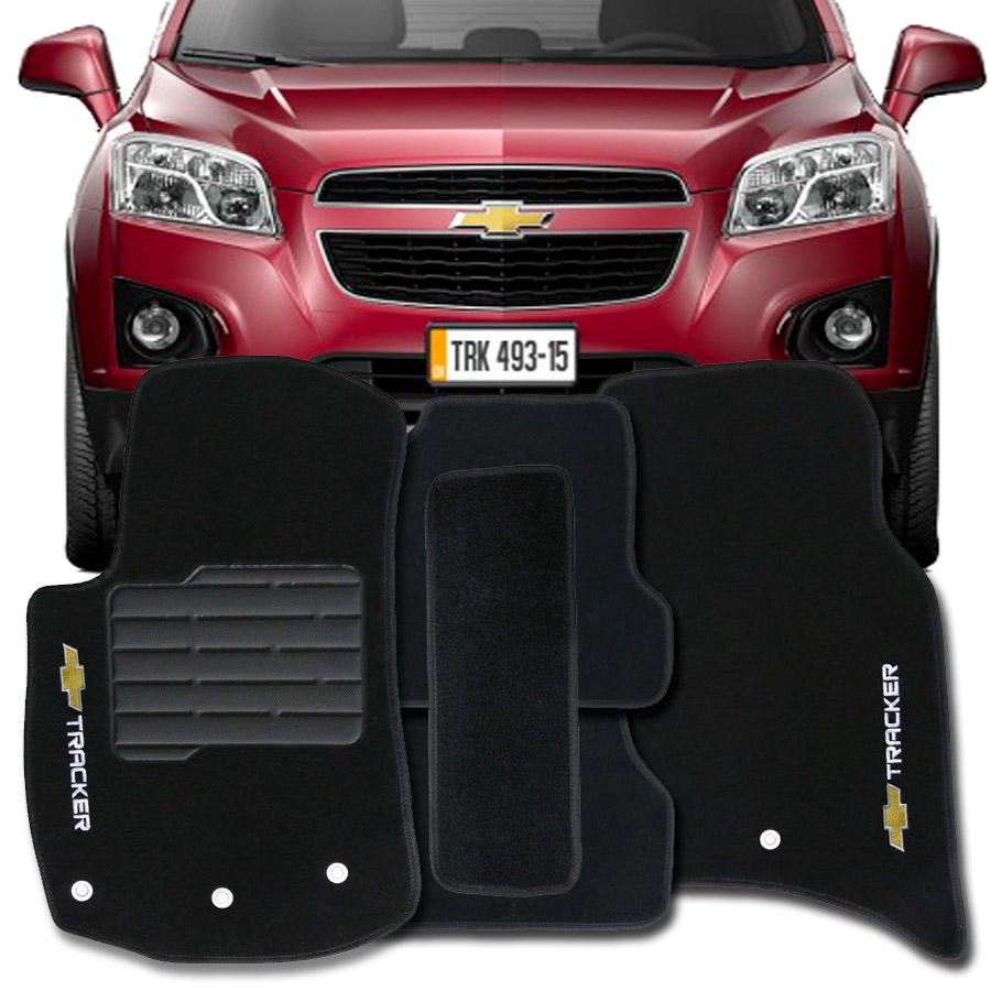 Tapete Carpete Tevic Chevrolet Tracker 2013 Até 2016