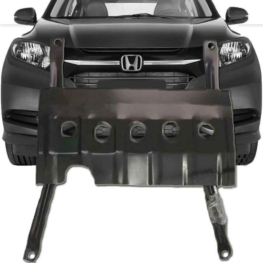 Protetor de Carter Completo Honda Hrv Hr-v 2015 16 17 18 19 Com Parafusos Fixadores