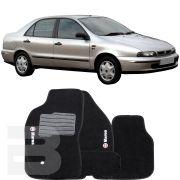 Tapete Carpete Tevic Fiat Marea 1996 Até 2012
