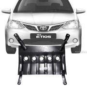 Protetor de Carter Completo Toyota Etios Hatch Sedan 2013 14 15 16 Com Parafusos Fixadores