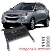 Protetor de Carter Completo Hyundai Ix35 2011 12 13 14 15 16 Com Parafusos Fixadores