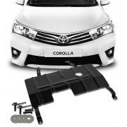 Protetor de Carter Completo Toyota Corolla 2015 16 17 18 19 Com Parafusos Fixadores
