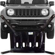 Protetor de Carter Completo Jeep Renegade 2016 17 18 Com Parafusos Fixadores