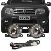 Kit Farol de Milha Neblina Auxiliar Renault Duster 2011 12 13 14