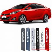 Friso Lateral na Cor Original Hyundai Hb20s Sedan 2012 13 14 15 16 17 18 19