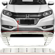 Sobre Grade Honda Hrv Hr-v 2015 16 17 18 Cromada Aço Inox