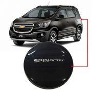 Capa de Estepe Chevrolet Spin Activ 2015 16 17 18 Com Cadeado