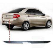 Friso Resinado Porta Malas Ford Ka Sedan 2014 15 16 17 18 Cromado
