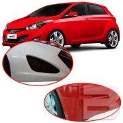 Aplique Adesivo Protetor de Parachoque Hyundai Hb20 2012 13 14 15 16 17 18 19 Incolor